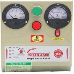 single phase borewell starter wiring diagram 1996 honda accord fuse box timer panel control three electronic
