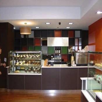 Bakery Interior Decorations Aluminium Interior Decoration Service
