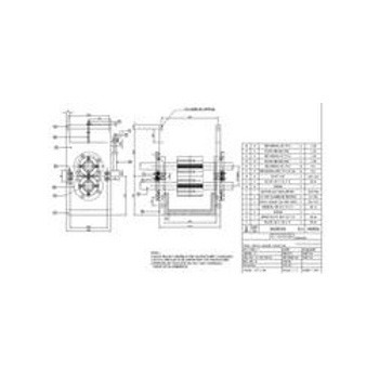 Built Machine Parts Drawing, Mechanical Project Division