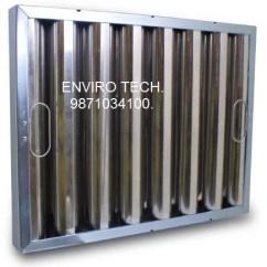 Kitchen Hood Filters Corner Unit Table Baffle Enviro Tech