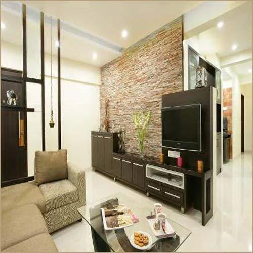 Flats Drawing Room Designing Interior Designers  Nilesh Bakale Interior Designer AContractors