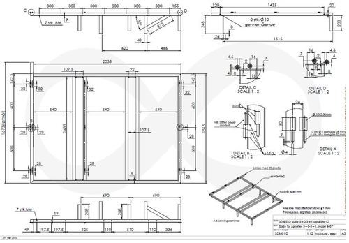 Structural Steel Drawing Services in Hrbr Layout
