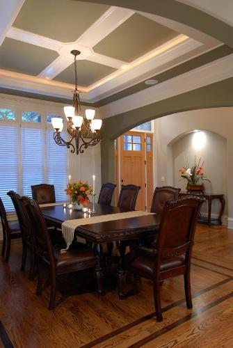 POP Ceiling In Dining Room in Lucknow Sector E by Elegant