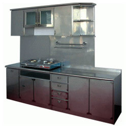 Stainless Steel Kitchen Cabinet Ss Kitchen Cabinet Latest Price
