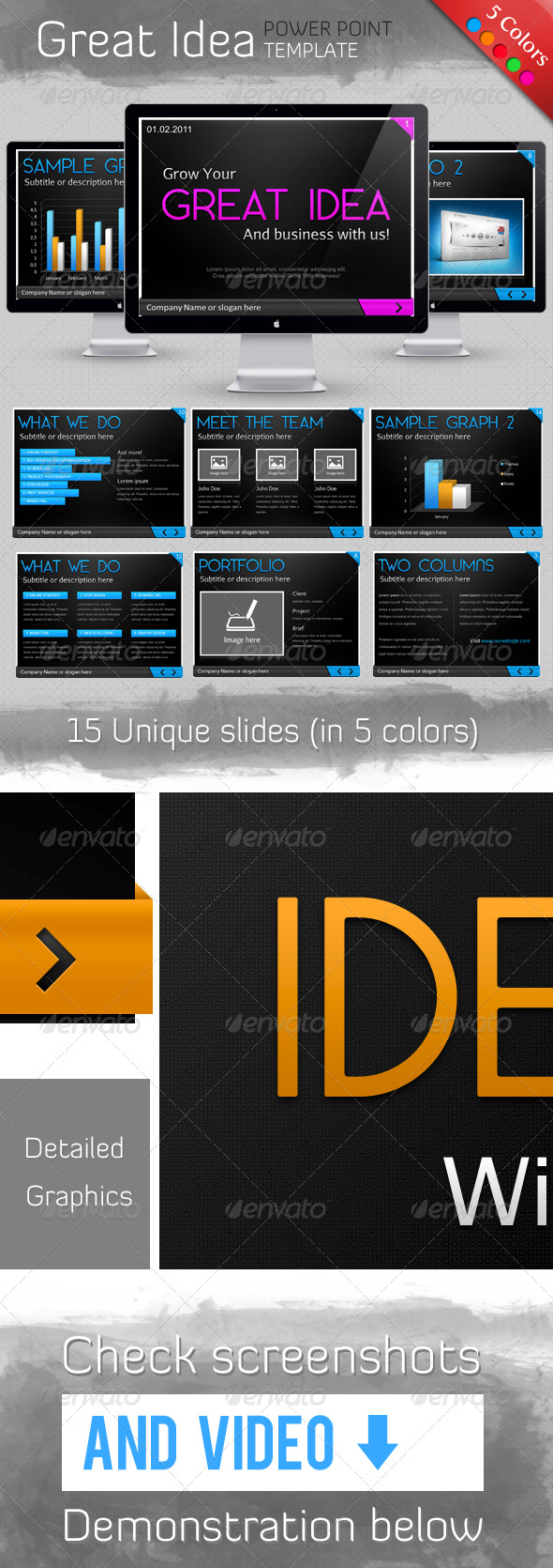 Great Idea Template - GraphicRiver Item for Sale