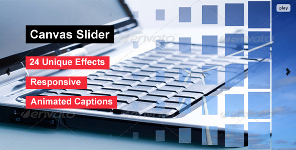 Canvas Slider - jQuery Canvas Effect Slider - CodeCanyon Item for Sale