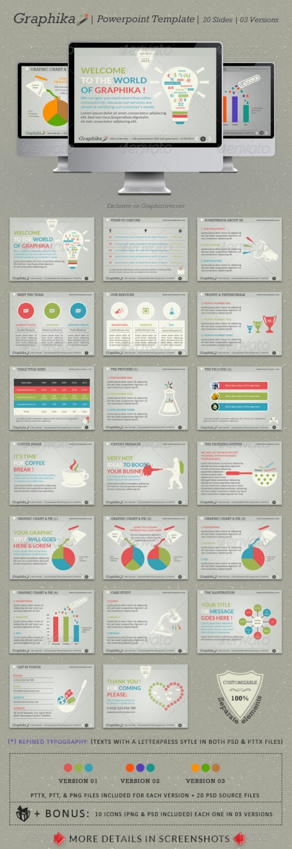 Graphika PowerPoint Template