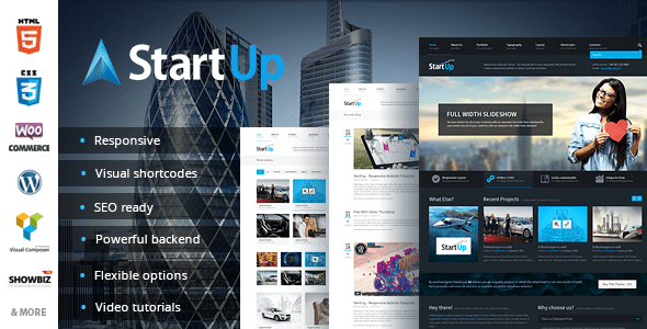 StartUp - Multi-Purpose Responsive Theme - Corporate WordPress