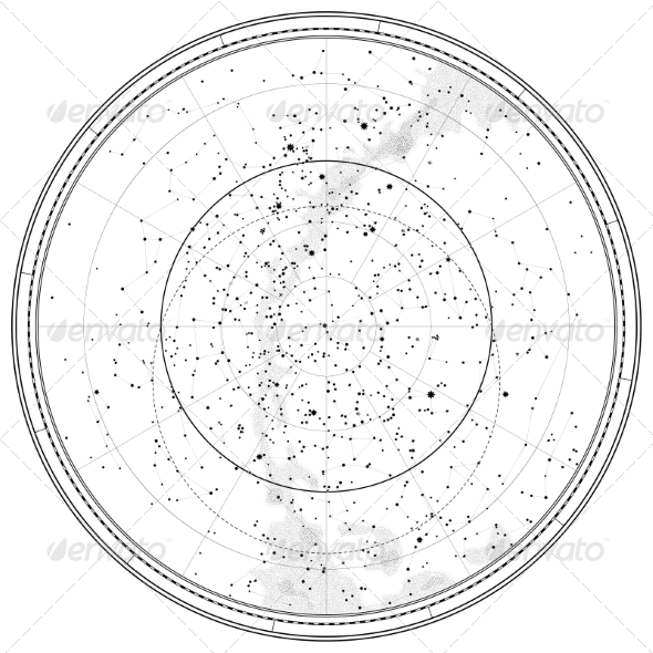 Astronomical Celestial Map (Travel) Download ~ Best GFX