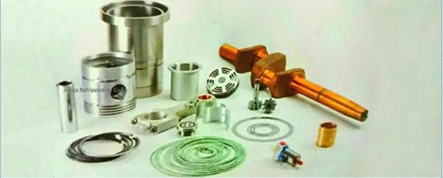 Refrigeration Compressor Spare Parts Manufacturer Supplier in Delhi India