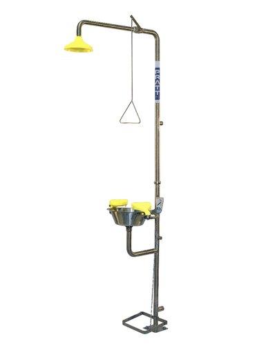 Wholesale Stainless Steel Safety Shower Cum Eye Wash
