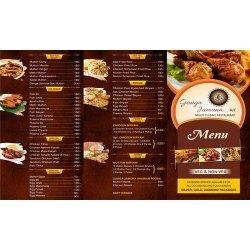 Hotel Menu Card Designing Service in Faridabad India