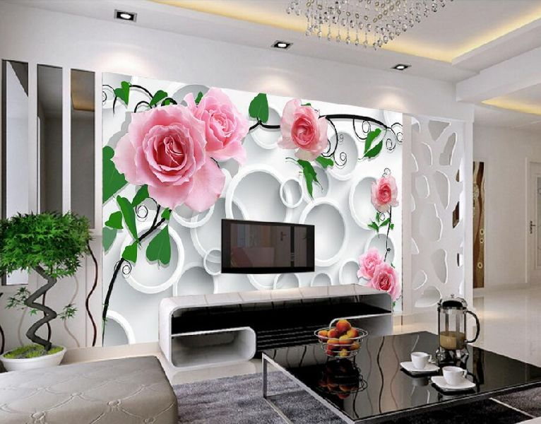Designs For Your Living Room With Additional Stunning D Wallpaper
