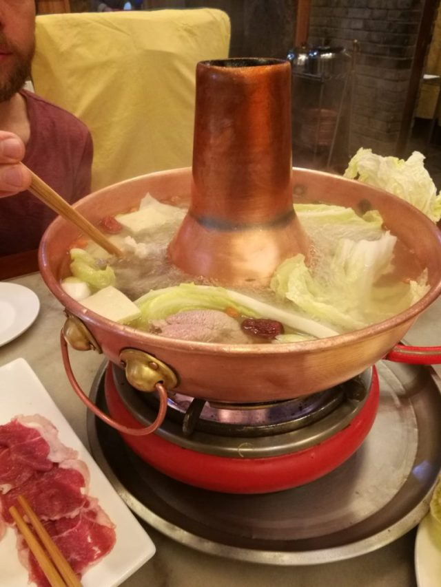 Fondue chinoise à Nam Men Hot Pot