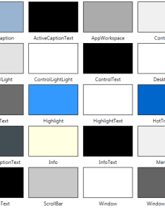 Filed under graphics tagged with colors system systemcolors also things you should know about wpf rh