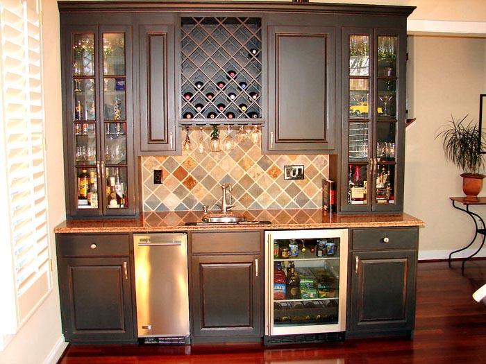 Custom bars builtin bars basement bars Custom Cabinets