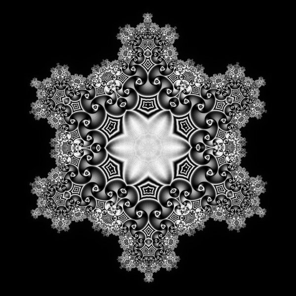 Series Of Snowflakes Subblue