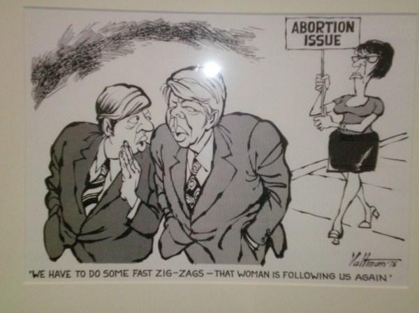 1976 Election Political Cartoon