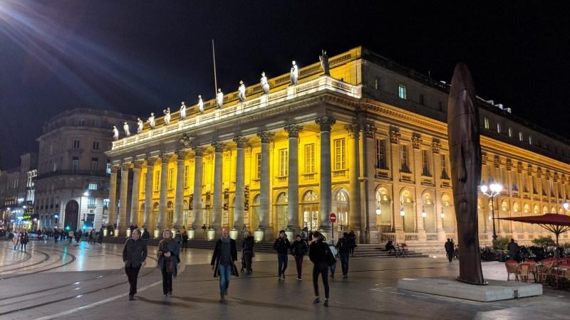 Bordeaux Self-guided Walking Itinerary -Grand Théâtre de Bordeaux