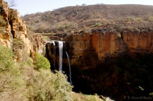The falls on Eland River below Waterval Boven.