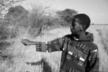 Mpho Kgokane explains how to identify the different ditlhare (trees) of the bosveld (bushveld).
