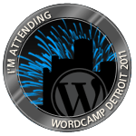 I'm attending WordCamp Detroit 2011