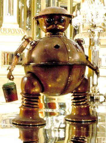 Tik Tok in the movie Return to Oz 1985
