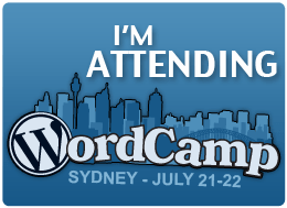 WordCamp Sydney July 21-22, 2012
