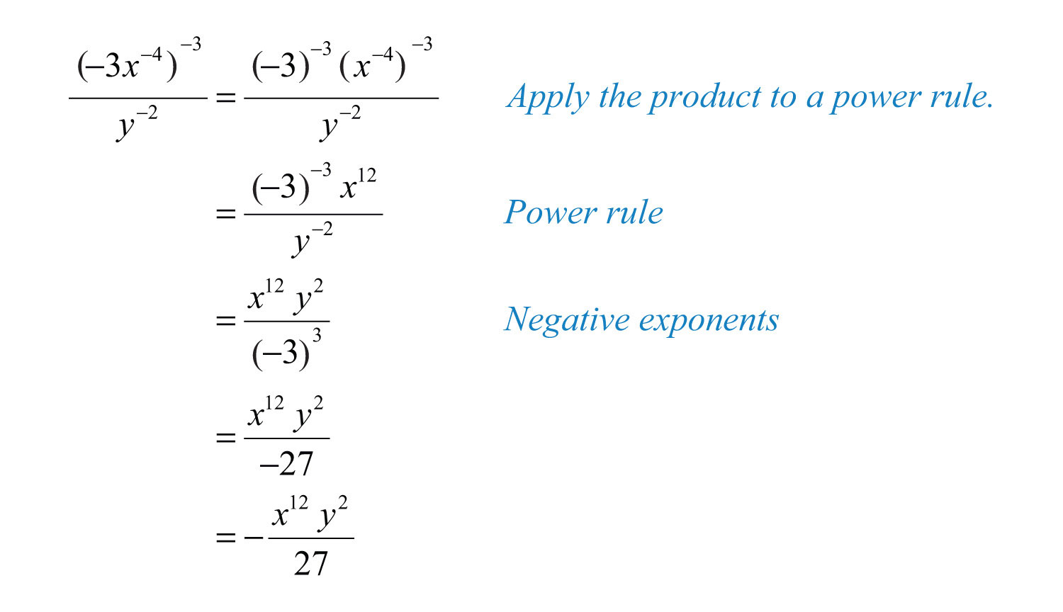 Worksheet On Exponents Rules