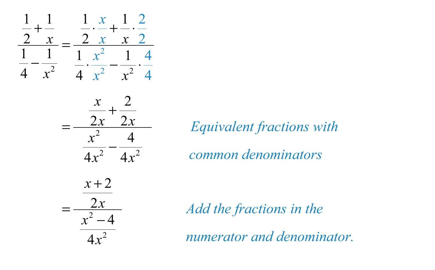 Worksheet On Complex Fractions