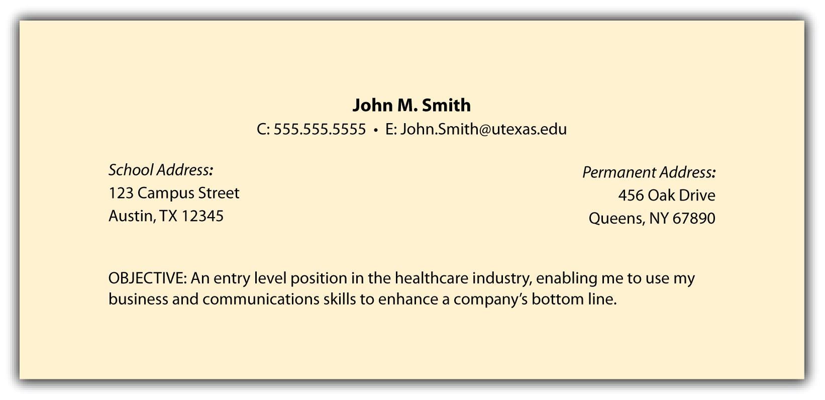 job objectives for customer service