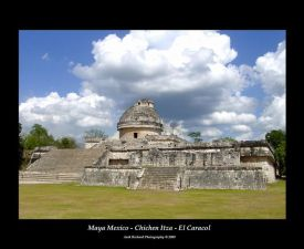 Chichen Itza Yucatan Mexico El Observatorio