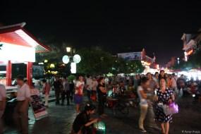Abends in der West Street