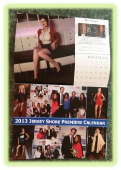 2013 Jersey Shore Premiere Calendar - Rio Designs