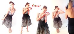 Collage Polka Dot BTS 1