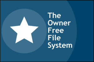 English: Logo of the Owner-Free Filing System ...