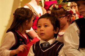 A young Polish choir member