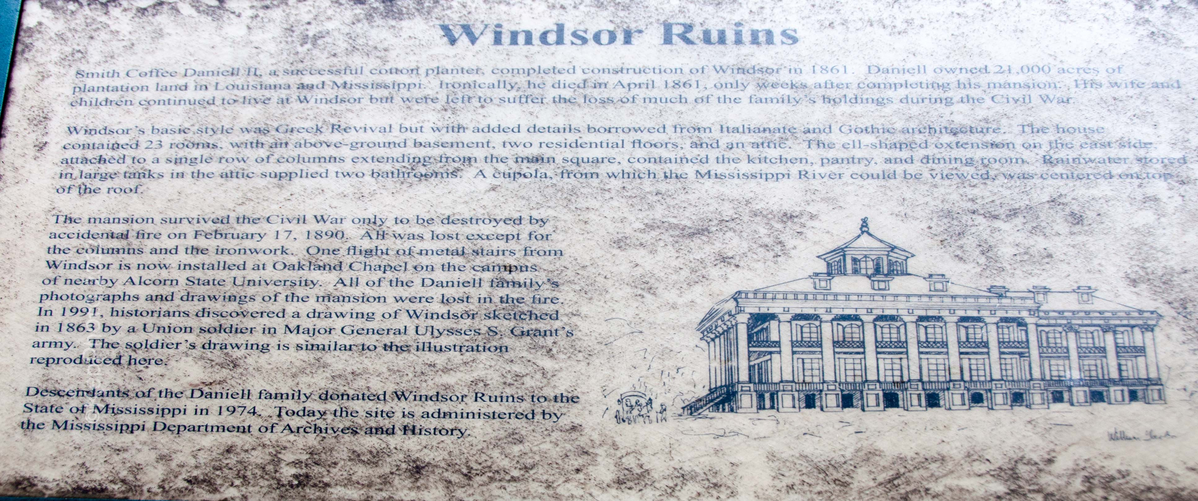 Windsor Ruins  2012 With The Flying SunCruiser