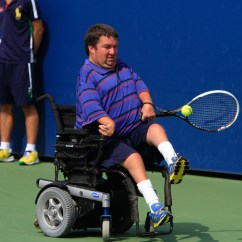 Wheelchair Quad Plastic Chair Covers In India American Collegiate Invitational Finals Photo Gallery Video And Nicholas Taylor Action A Men S Singles Match On Day 13 Of The