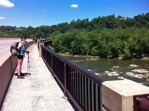 Shenandoah River bridge