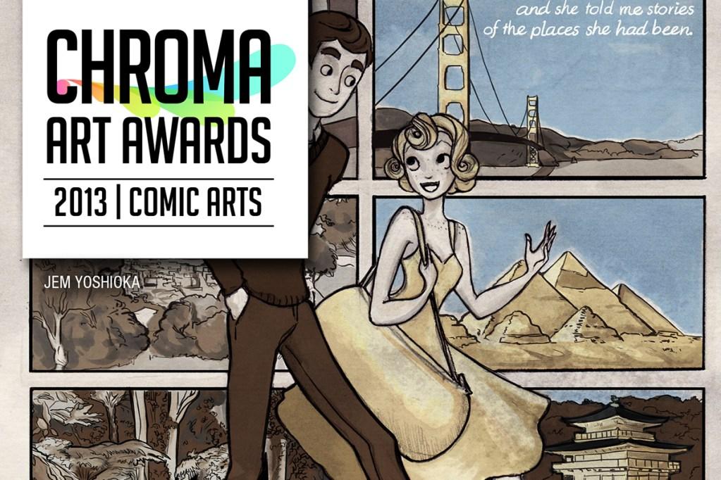 Chroma Art Awards 2013 comic Banner
