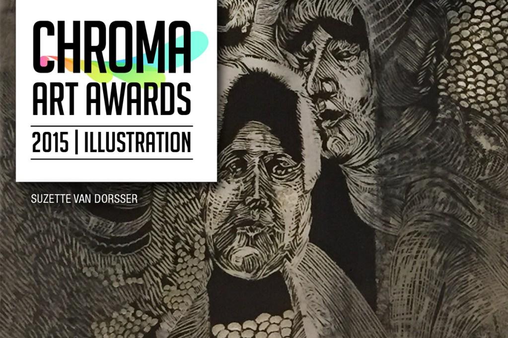Chroma Art Awards 2015 illustration Banner