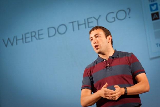 Luca Sartoni at WordCamp Europe 2014. Photo by Vladimir Kaladan Petkov