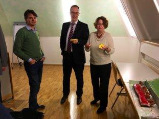 Bei der Mitgliederversammlung 2015. Quelle: Archiv M. Geißler