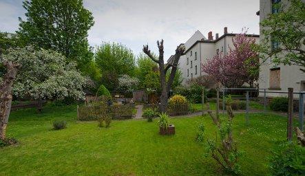 Garten im Garten in der Max-Planck-Straß; Foto: Andreas Reichelt