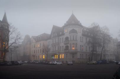 Der Liviaplatz im November; Foto: Andreas Reichelt