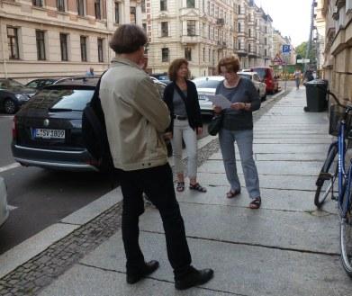 Redaktion beim Geocachen