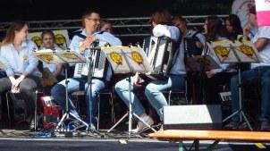25. Großes Funkenburgfest,Akkordeonteufel, Foto: M. Geißler
