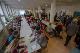 Neujahrsempfang des Bürgervereins in der Deutschen Zentralbücherei für Blinde (DZB)