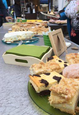 Lecker Kuchen von den Bäckern des Viertels, FuBuFe 2018, Foto: M. Geißler